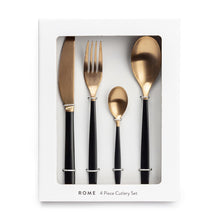 Load image into Gallery viewer, Copy of CHICKIDEE | Rome Cutlery Set | Matte Coper & Black - LONDØNWORKS