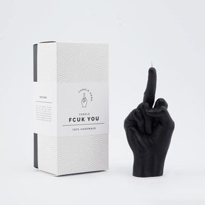 CANDLE HAND | Fcuk | Black - LONDØNWORKS