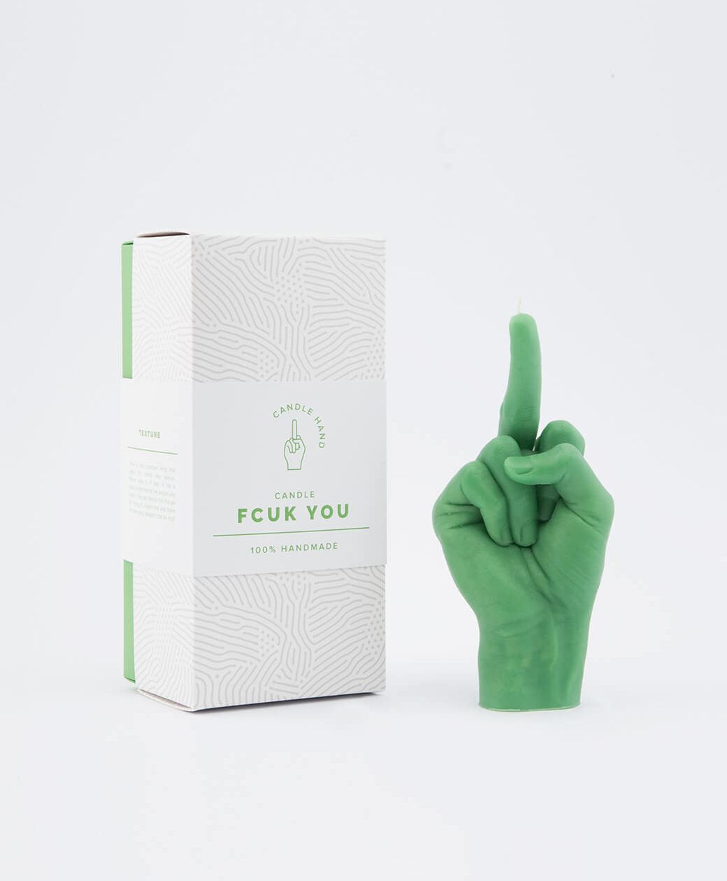 CANDLE HAND | Fcuk | Green - LONDØNWORKS