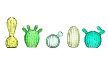 Load image into Gallery viewer, KLEVERING | Vase Cactus Small | Dark Green - LONDØNWORKS