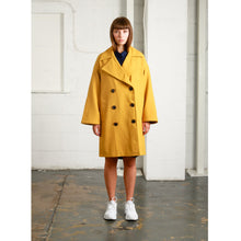 Load image into Gallery viewer, NATIVE YOUTH | Creator Overcoat | Mustard Yellow - LONDØNWORKS