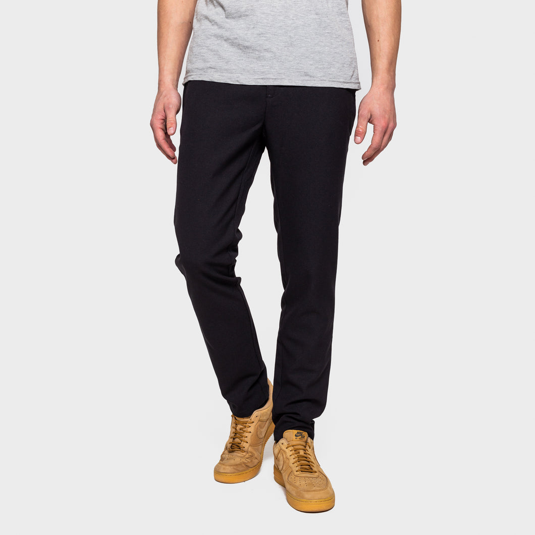 RVLT REVOLUTION | Trousers 5804 | Slim | Black - LONDØNWORKS
