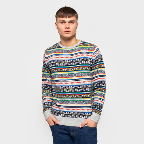 RVLT REVOLUTION | Knitted Sweater 6510 | Multi - LONDØNWORKS