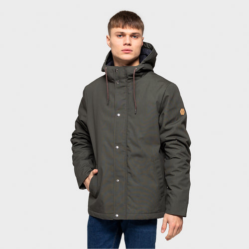REVOLUTION | 7311 X Hooded Jacket Evergreen | Army - LONDØNWORKS