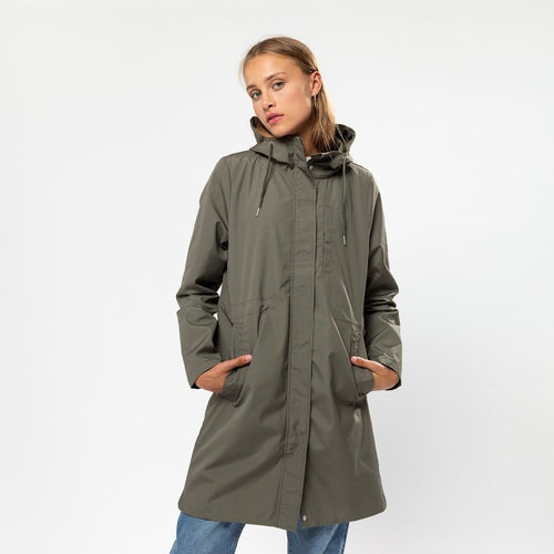 SELFHOOD | Hooded Jacket 77119 | Army - LONDØNWORKS