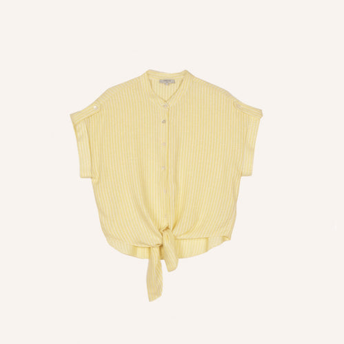 FRNCH | Shirt Camilla | Soft Yellow - LONDØNWORKS