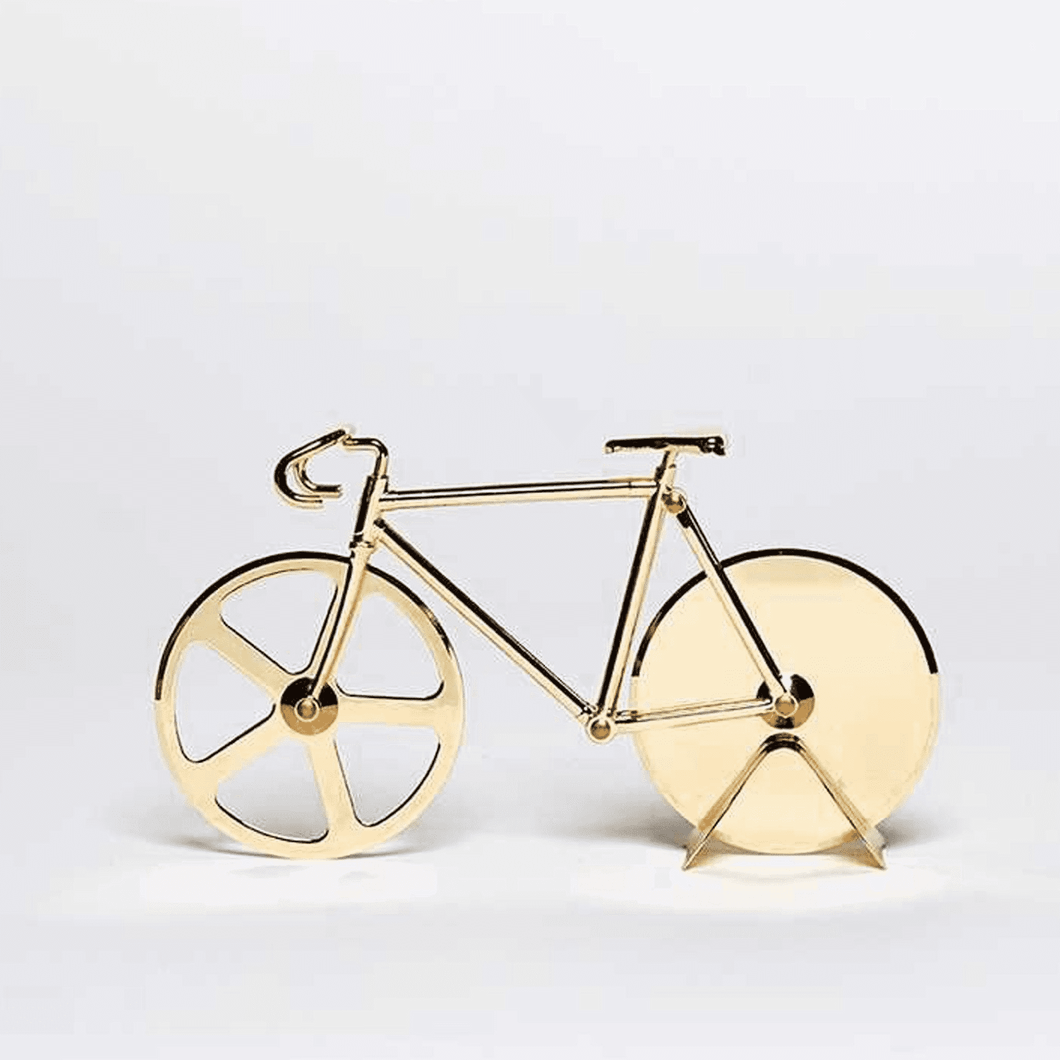 DOIY | Bike Pizza Cutter | Gold - LONDØNWORKS