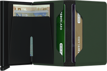 Load image into Gallery viewer, SECRID | Slimwallet | Matte Green/Black