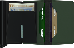 SECRID | Slimwallet | Matte Green/Black