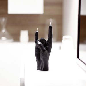 CANDLE HAND | You Rock | Black - LONDØNWORKS