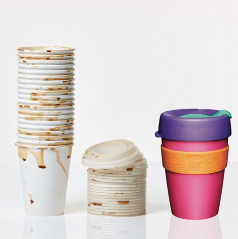 Disposable Cup vs KeepCup