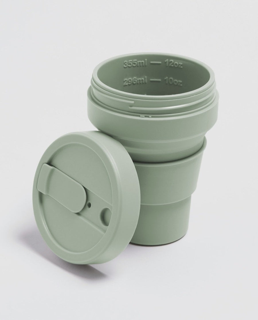 Stojo Reusable Pocket Cup Sage