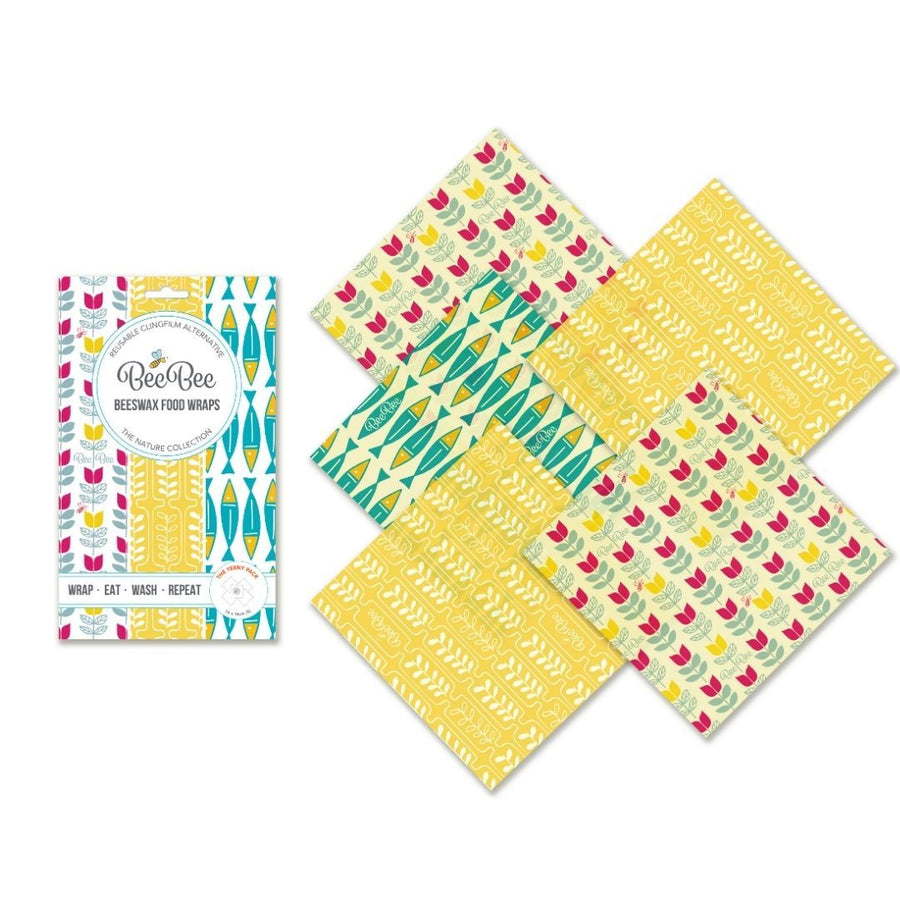 Beeswax Food Wrap - The Teeny Pack