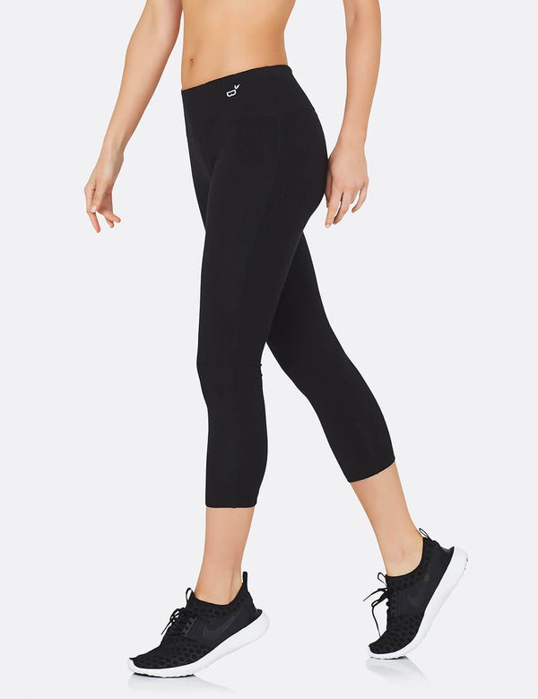 Organic Bamboo Active 3/4 Leggings