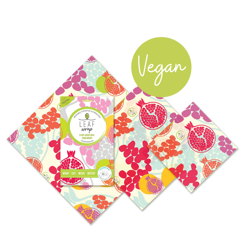 Beeswax Food Wrap - The Mixed Size Pack