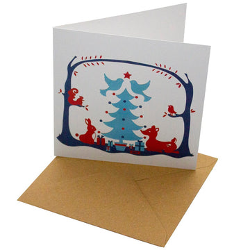 Recycled Christmas Card