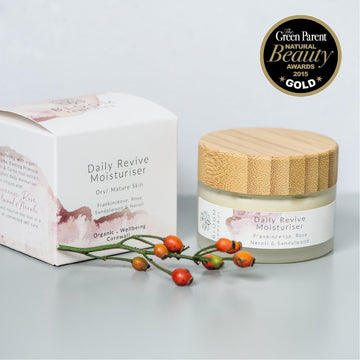 Daily Revive Moisturiser With Rosehip & Frankincense