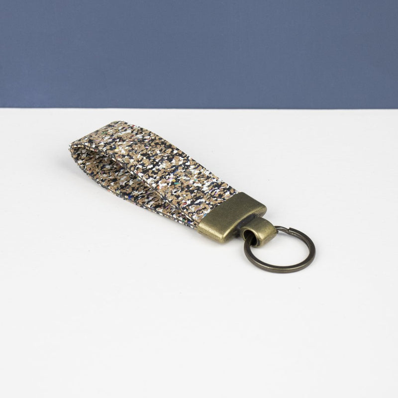Cork Key Fob - Beach Clean