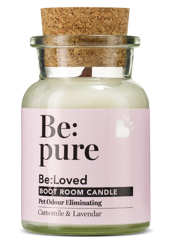 Natural Pet Boot Room Candle