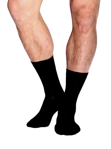 Organic Bamboo Men's Business Socks