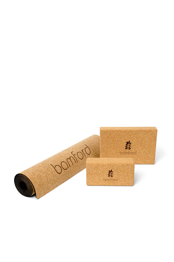 B-Balanced Cork Yoga Block