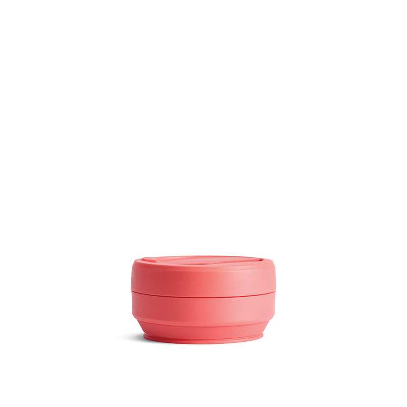 Stojo Reusable Pocket Cup Coral