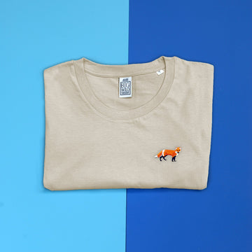 Fox Organic Cotton Unisex T-Shirt