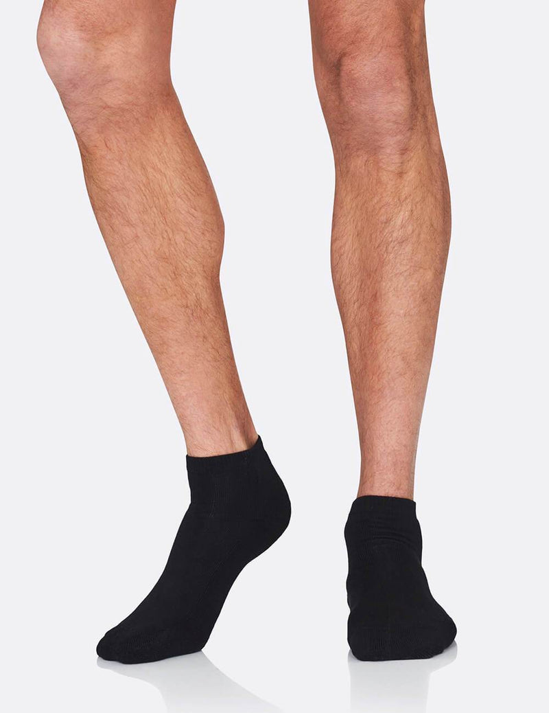 Organic Bamboo Men's Cushioned Sport Ankle Sock
