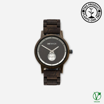 Olive Botanica Wooden Watch