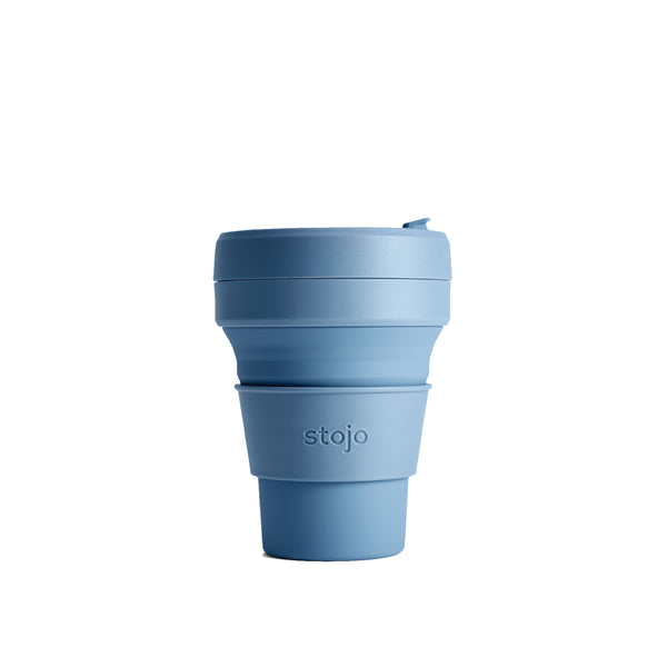 Stojo Reusable Pocket Cup Steel