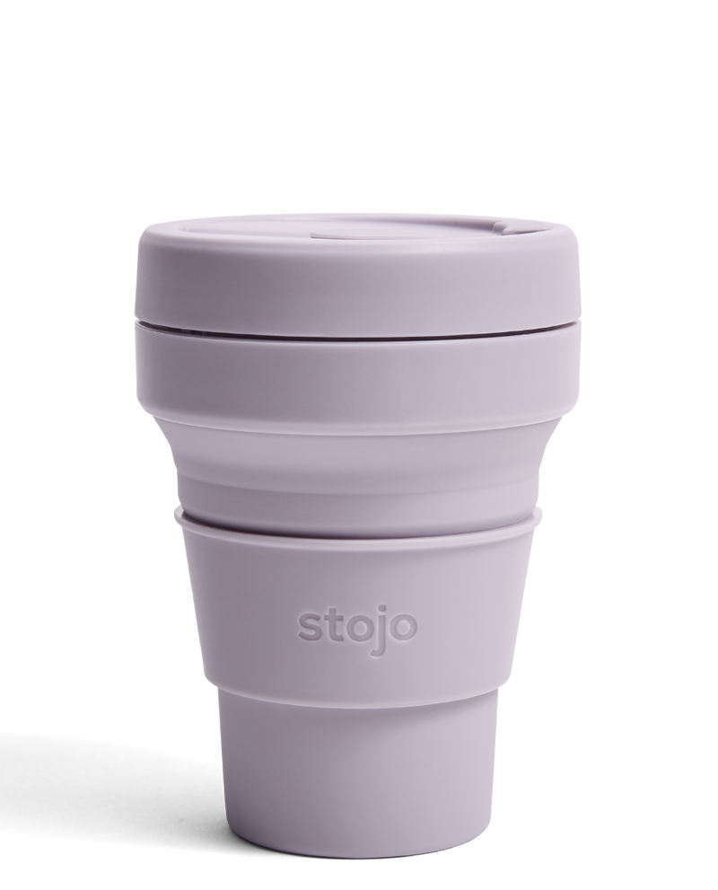 Stojo Reusable Pocket Cup - Lilac