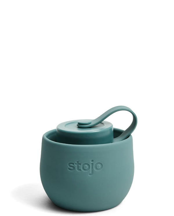 Stojo Reusable Pocket Bottle - Eucalyptus