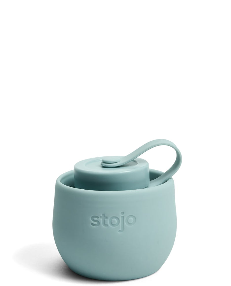 Stojo Reusable Pocket Bottle - Aquamarine