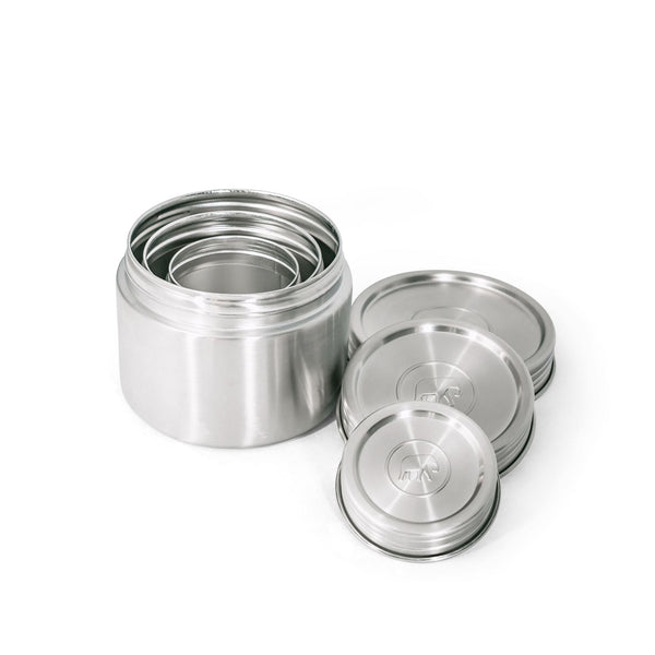 Twist & Lock Leakproof & Airtight Canister Trio