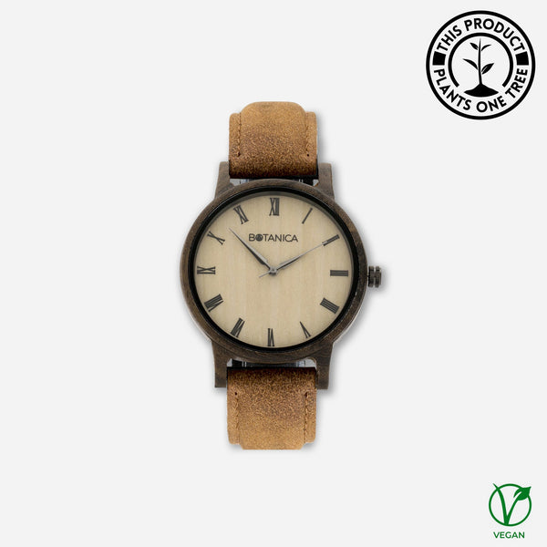 Cedar Botanica Wooden Watch