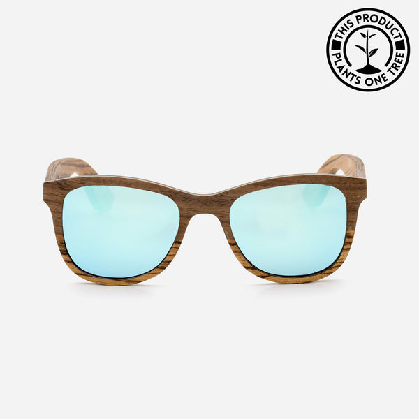 Mavericks Cambium Wooden Wayfarer Sunglasses