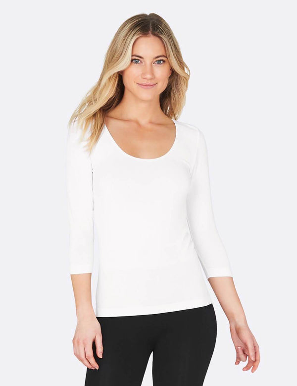 Organic Bamboo Scoop Top
