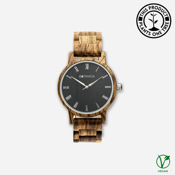 Ivy Botanica Wooden Watch