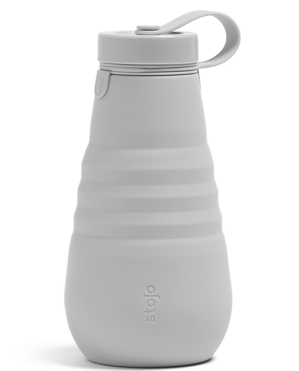 Stojo Reusable Pocket Bottle - Cashmere