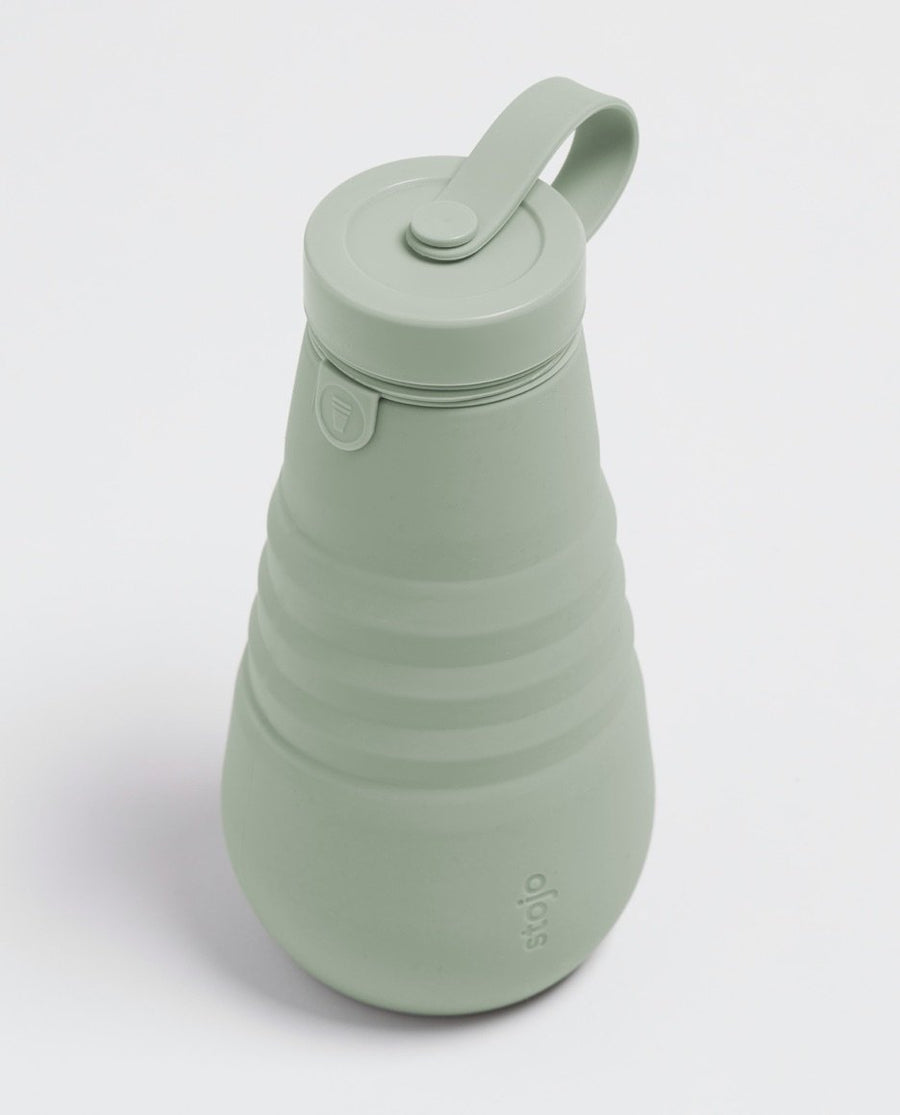 Stojo Reusable Pocket Bottle - Sage