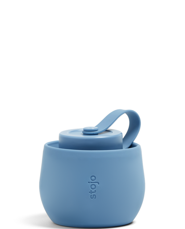 Stojo Reusable Pocket Bottle - Steel