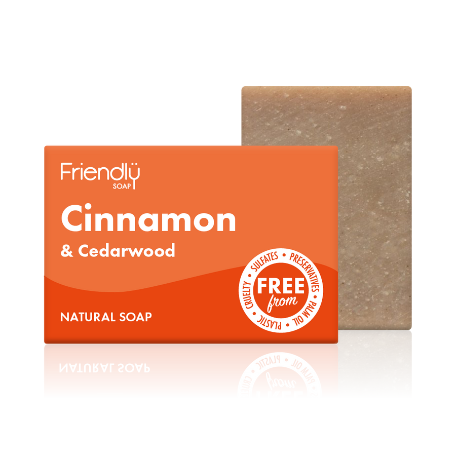 Cinnamon & Cedarwood Soap Bath Bar