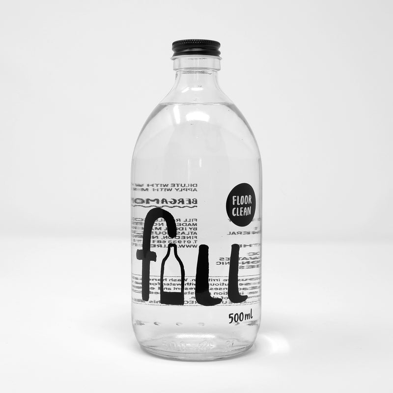 Refillable Floor Cleaner | Bergamot