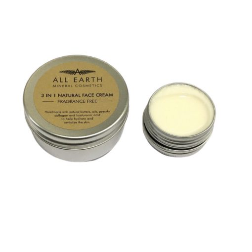 Three-in-One Natural Face Cream