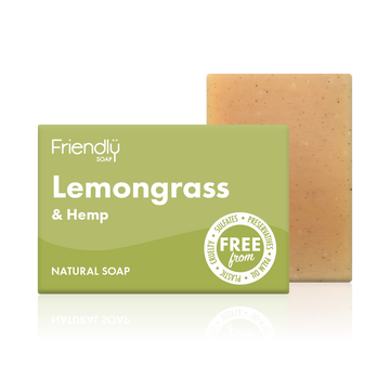 Lemongrass & Hemp Soap Bath Bar