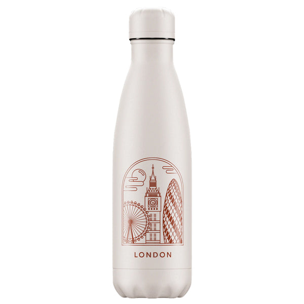 Double-Walled Stainless Steel Bottle 500ml - City Break Edition