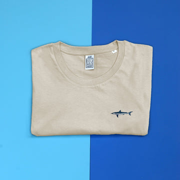 Mako Shark Organic Cotton Unisex T-Shirt