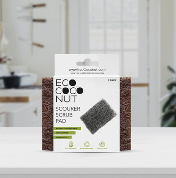 Coconut Husk Twin Pack Scrub Pads