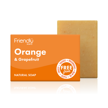 Orange & Grapefruit Soap Bath Bar