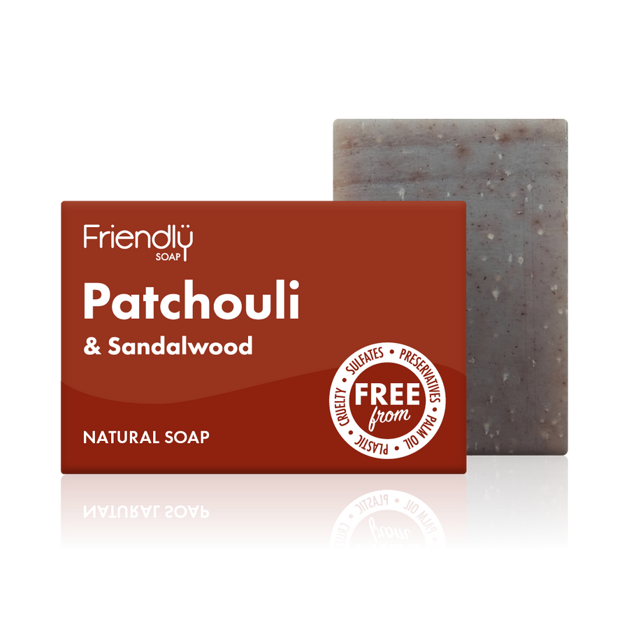 Patchouli & Sandalwood Soap Bath Bar